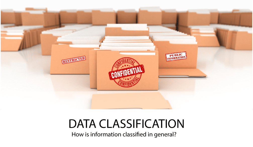 Data Classification in general